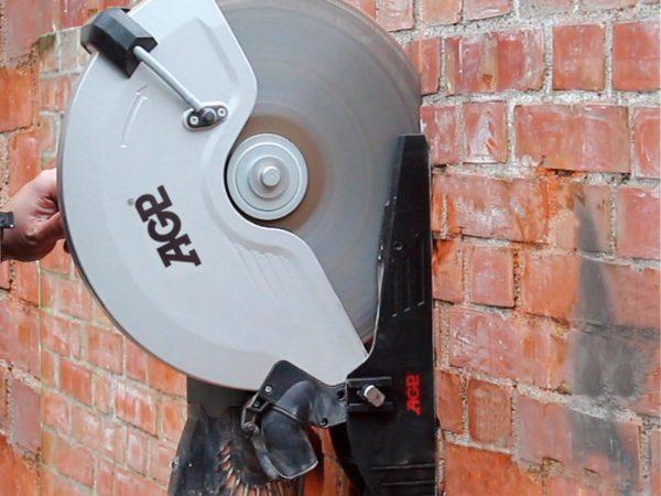 Nástavec proti prachu pro pilu na beton AGP C14