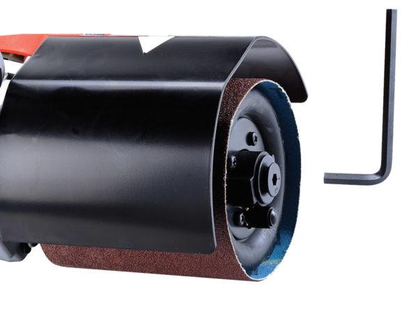 Satinovací bruska a leštička na kov DP100