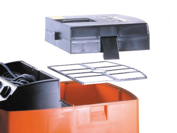 Vysavač AGP DE25 a DEP25 -filtry