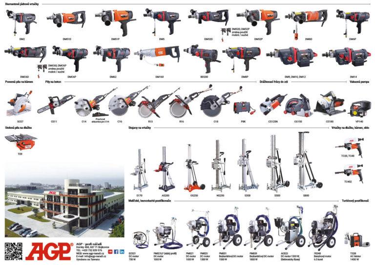 Produktový list AGP