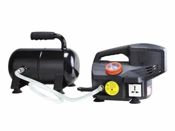 Vakuová pumpa s vakuovou nádobou