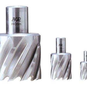 Jádrové vrtáky na kov HSS AGP