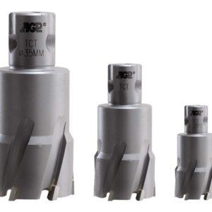 Jádrové vrtáky na kov TCT AGP