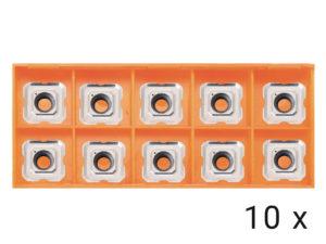Karbidové břitové destičky R2,5 10x (HP1400,EB6T)