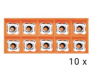 Karbidové břitové destičky R3,5 10x (HP1400,EB6T)