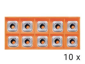 Karbidové břitové destičky rovné 10x (HP1400,EB6T)