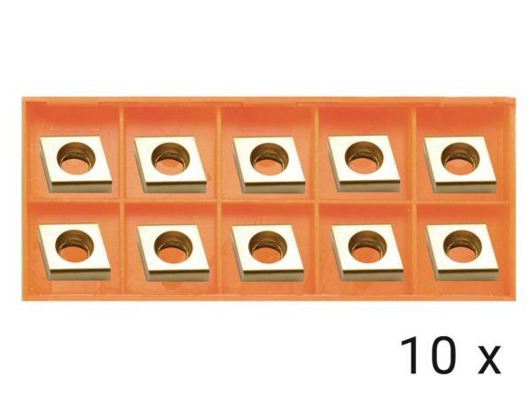 Karbidové břitové destičky rovné 10x (EB12)
